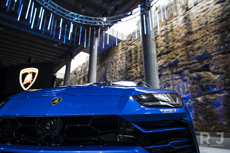 Lamborghini Urus Launch Sydney Australia - RossxJohnson Ross Johnson
